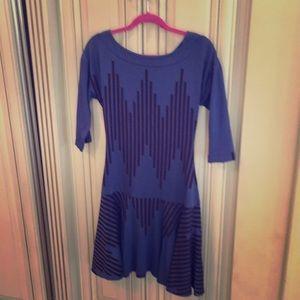 Tracy Reese Knit Drop Waist Dress